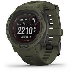 Garmin Instinct Solar Tactical GPS Smartwatch, olive